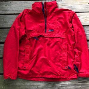 Patagonia Men's 1/4 Zip Red Pullover L